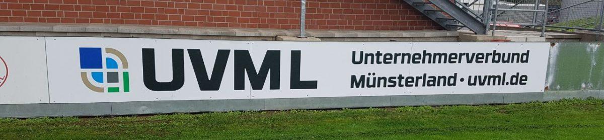 Bandenwerbung beim FC Eintracht Rheine